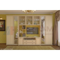 Стенка в гостиную Карина - композиция 6