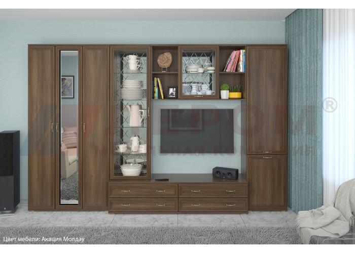 Стенка в гостиную Карина - композиция 15
