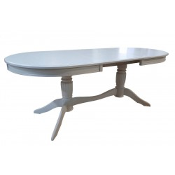 Стол обеденный овальный Зубр 1