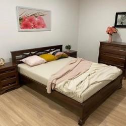 Кровать Лира из массива сосны