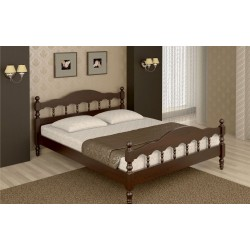 """Кровать из сосны """"Точенка"""""""