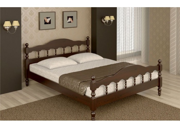 """Кровать из сосны """"Лианель"""""""