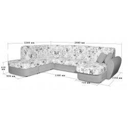 """Угловой диван-кровать """"Саша"""""""