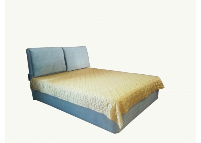 """Кровать """"Катрин 160"""" Т (изголовье из ткани)"""